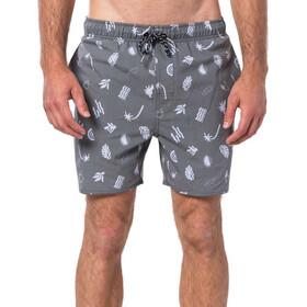 Rip Curl Seaside 16'' Volley Bañador Shorts Hombre, gris